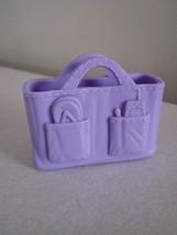 Fisher Price Loving Family Dollhouse Purple Beach Bag - $1.97