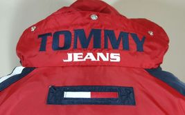 VTG Tommy Hilfiger Jacket Flag Windbreaker Colorblock 90's Spell Out XL Coat image 5