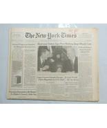 The New York Times 1993 January 4 Bush Yeltsin Deep Missile Cuts Somalia DX - $39.99