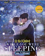 KOREAN DRAMA WHILE YOU WERE SLEEPING VOL.1-32 END DVD ENGLISH SUBS Ship From USA