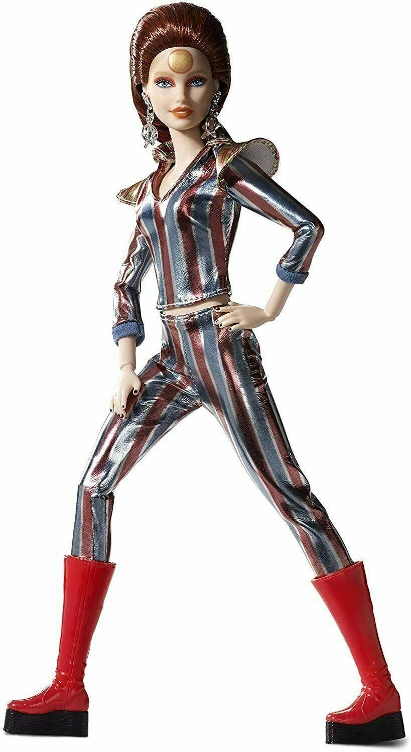 Barbie - Fx David Bowie Collector, Doll (Mattel FXD84) Dress El Suit Space - $307.83