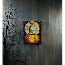 New Ohio Wholesale Lighted Hoot and Howl Canvas - $24.74