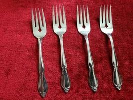 Oneida Chatelaine set of 4  Salad forks  - $18.76