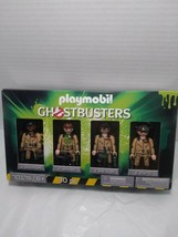Playmobil Ghostbusters Set 4 Action Figures Team Collector's (Unopened) 2019 - $13.80