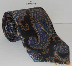 "Mens Geoffery Beene Polyester and silk Neck Tie 58"" long 3 1/2"" wide #3 Necktie image 2"