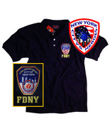 FDNY T-Shirt Polo Officially Licensed by The New York City Fire Department - $24.99