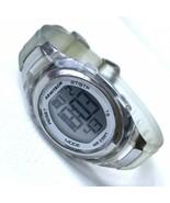 Armitron Pro Sports Digital Chronograph Watch Women's Grey Jelly 45/7034... - $13.81
