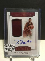 2016-17 Panini National Treasures L.L. Jersey AUTO #23 Tristan Thompson ... - $8.50