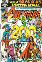AVENGERS #200 VF- range Marvel Comics 1980 Double-sized Ann. issue Shoot... - $24.75