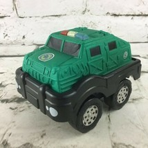 Matchbox 2002 Planet Toys Green Military Tank Soft Foam Top Toy Vehicle W/Sounds - $11.88