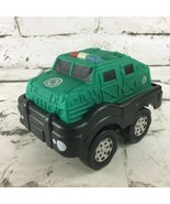 Matchbox 2002 Planet Toys Green Military Tank Soft Foam Top Toy Vehicle ... - $11.88