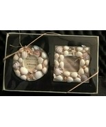 Kohl's Sonoma Key West Two Seashells Beach Square and Round Picture Frame - $19.79