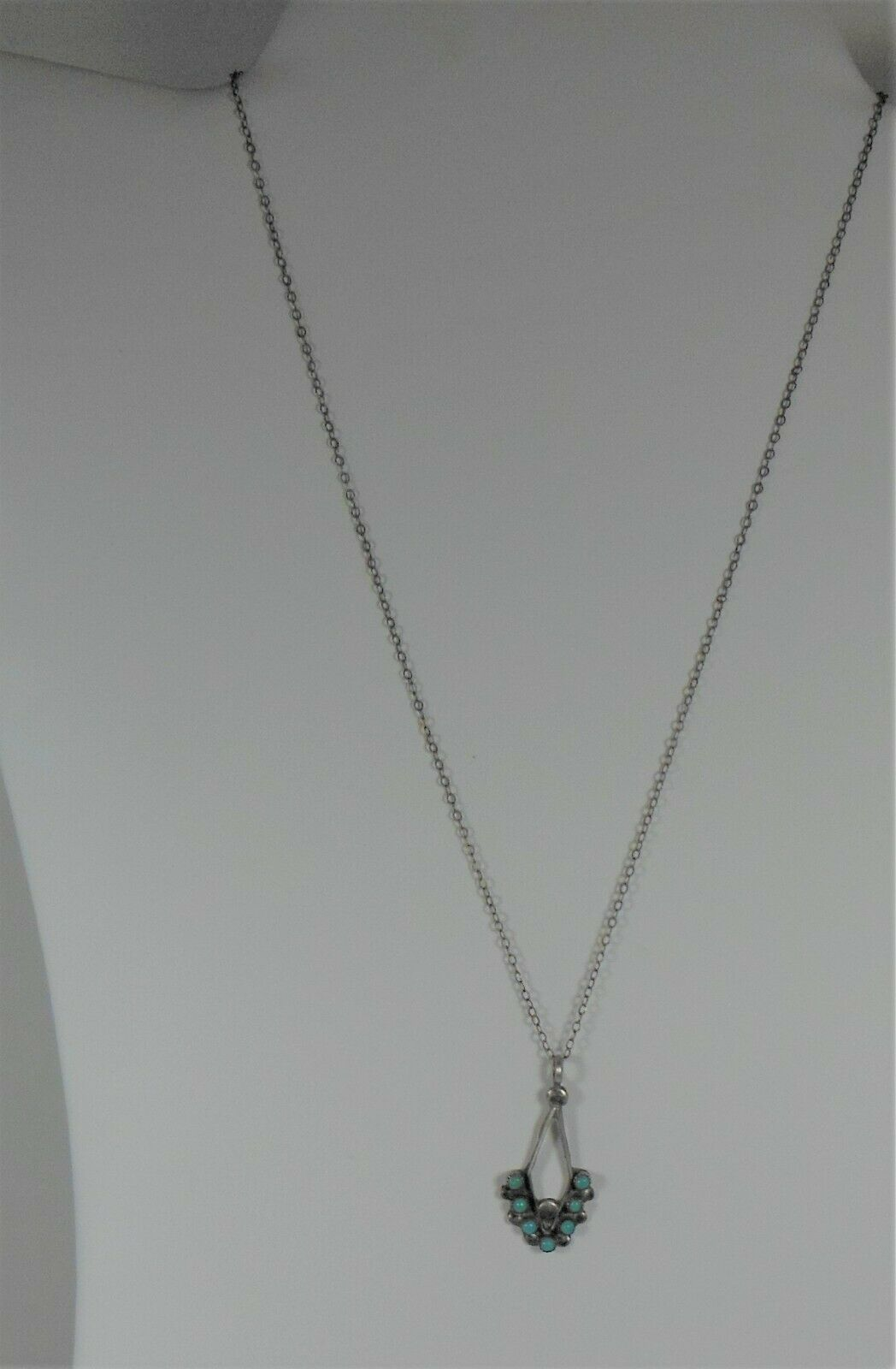 Primary image for Sterling Silver Snake Eye Turquoise Arrow necklace