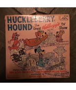 HUCKLEBERRY HOUND, THE GREAT KELLOGG'S TV SHOW 1959 CHILDRENS LP VINYL R... - $6.76
