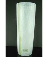 """Kosta Boda Signed Bertil Vallien Glass Art Vase 10"""" - $173.25"""