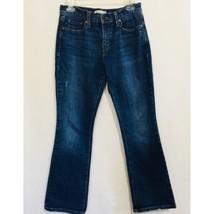 Levis 515 Womens Size 4S Boot Cut Medium Wash Jeans Back Flap Pockets - $24.74