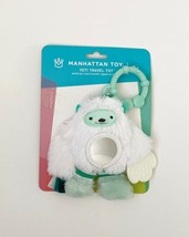 Travel Activity Toy for Babies, Manhattan Toy Baby Yeti Travel Teether Toy - $11.87