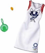 Barbie Clothes: Olympics Fashion -White Dress - $9.89