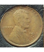 1916-D Lincoln Wheat Back Penny FINE #216 - $2.39