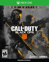 XBox One - Call of Duty: Black Ops 4 Pro Edition - Retail is $109.99 - $59.95