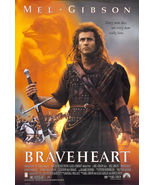 "Braveheart (1995) Movie Poster New 24""x36"" MEL GIBSON William Wallace En... - $21.00"