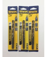 "(New) Irwin TurboMax 73626 13/32""   Drill Bits  Pack of 3 - $22.76"