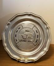 Vintage Wilton Armetale Pewter Plate The Anvil Club - $15.00