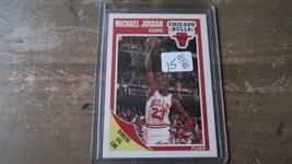 1989-90 Fleer Scoring Average Leader MICHAEL JORDAN Chicago Bulls #21 - $17.81