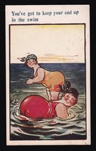 You've Got To Keep Your End Up Vintage Artists Signed Postcard D. Tempest - $4.12