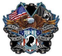 POW MIA All Gave Some, Some Gave All Metal Sign - $39.95