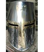 Picachu Red Deer Medieval Sugarloaf Crusader Helmet Knight's Templar Arm... - $55.00