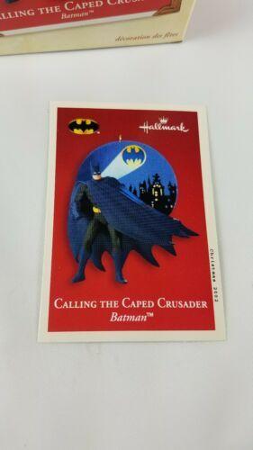 Hallmark Keepsake Ornament Calling the Caped Crusader Batman Lighting Effect  image 6