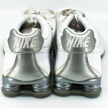 Nike Shox Classic II Women's White & Silver Running Sneaker Size 10 343907-111 image 4