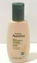 Aveeno Daily Moisture Body Wash 2oz Nourishes Dry Skin Travel Size New - $9.85