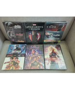 13 Marvel Movie DVD Collection: Avengers Endgame Captain America Thor An... - $59.97