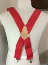 """McGuire Nicholas 1932 Red Suspenders Wide 2"""" - $9.89"""