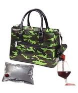 Winey Drink Purse in Camo Green - $44.99