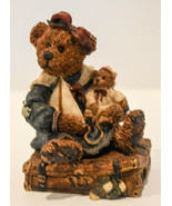 Boyds Bears  Bailey Bear With Suitcase - Style #2000 - Classic Figure - $12.86