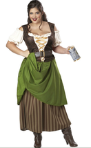 Tavern Maiden Costume - Plus Size - $39.99