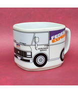 FedEx Coffee Cup Federal Express Worldwide Service Delivery Truck Mug Cu... - $14.95