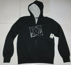 DC Shoes Draft Gray Zip Front Hoodie Size Small BNWT - $44.99