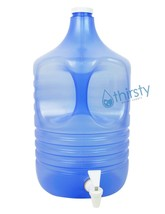 3 Gallon Water Bottle Polypropylene Plastic Drinking Jug H2O Aqua Dispen... - $23.99