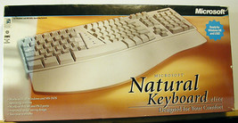 Microsoft Natural Keyboard Elite PS/2 or USB Ergonomic / TESTED and MINTY! - $48.33