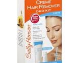 Sally Hansen Facial Hair Creme Remover Kit 1 ea Pack of 12