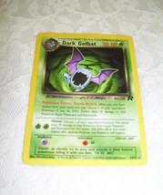 Rare Pokemon Trading Card Dark Golbat 2000 24/82 - $12.19