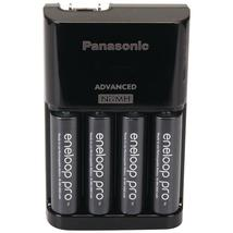 Panasonic 4-position Charger With Aa Eneloop Xx Batteries 4 Pk - $34.99