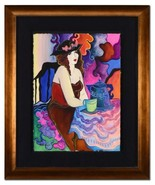 Patricia Govezensky-Framed Untitled ORIGINAL Watercolor Painting/Hand Si... - $730.55