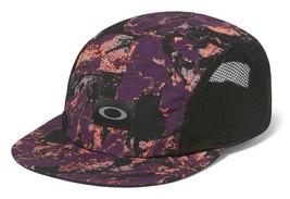 Oakley Women's 5 Panel Performance Hat Cap, Deep Plum One Size/Adjustable - $29.75