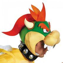 Disguise Super Mario Bros Bowser Deluxe Pfirsich Erwachsene Halloween Kostüm image 3