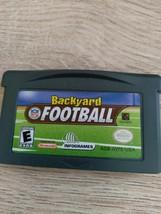 Nintendo Game Boy Advance GBA Backyard Football image 2